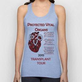 Protected Vital Organs Unisex Tank Top