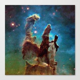 Eagle Nebula's Pillars Canvas Print