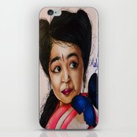 ahs iPhone & iPod Skins featuring Ma Petite-AHS by MELCHOMM