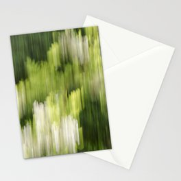 Green Hue Realm Stationery Cards
