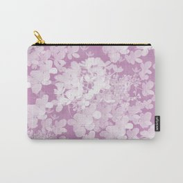 Pink Hydrangea Pastel Color #decor #society6 Carry-All Pouch