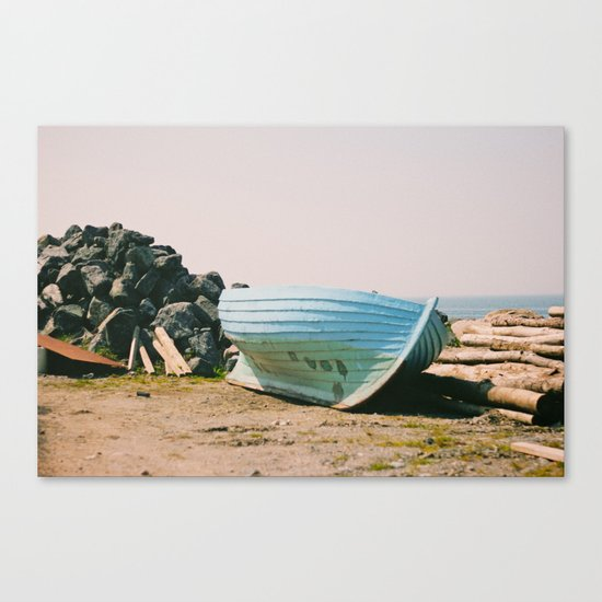 Long Country Canvas Print