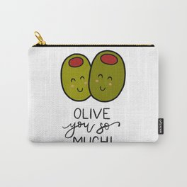 Olive You So Much! Carry-All Pouch