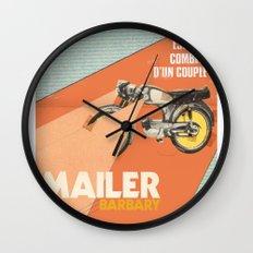 Mailer Barbary Wall Clock