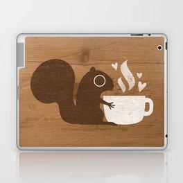 Squirrel Coffee Lover Laptop & iPad Skin