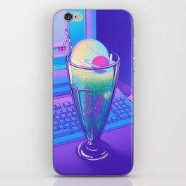 Space Cream Soda iPhone Skin