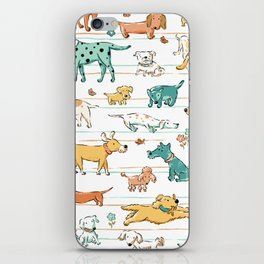 Dogs Dogs Dogs iPhone Skin