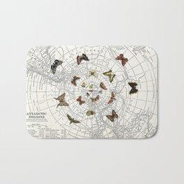 The Buttefly Effect - Antarctic Edition Bath Mat