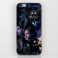saga iPhone & iPod Skins featuring Terminator Saga by Saint Genesis