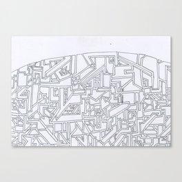 Costal City Canvas Print