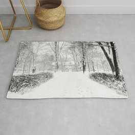 Wandering through Winter Rug