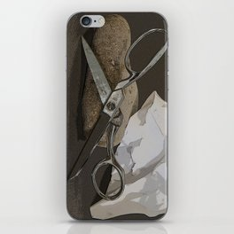 Rock, Paper, Scissors iPhone Skin