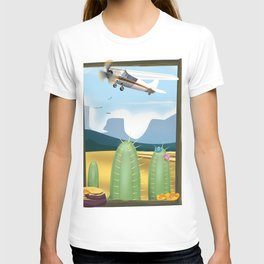 Desert and cactus T-shirt