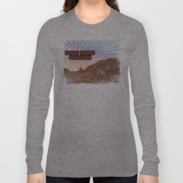 Retro Palo Duro Canyon Long Sleeve T-shirt