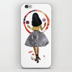 dancing on the moon iPhone & iPod Skin