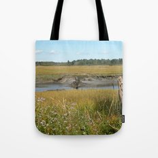 Scarborough Marsh Tote Bag