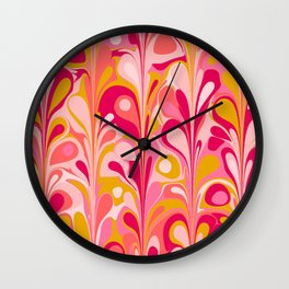 Retro Celebration Wall Clock