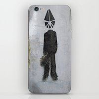 suit iPhone & iPod Skins featuring Suit  by Ethna Gillespie