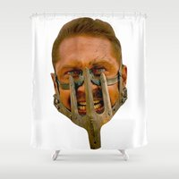 mad max Shower Curtains featuring Mad Max by Sten