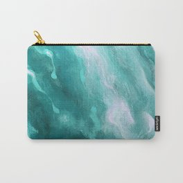 In the Company of Myself: Abstract #2 Carry-All Pouch