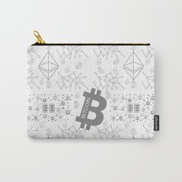 Blockchain cryptocurrency Carry-All Pouch