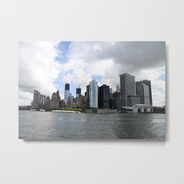 Manhattan View 2012 Metal Print