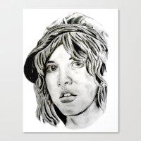 stevie nicks Canvas Prints featuring Stevie Nicks - Fleetwood Mac by Stu_JH_88