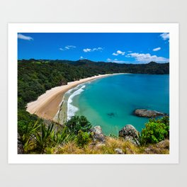 Beautiful Hidden Beach Art Print