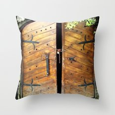 no passing Throw Pillow
