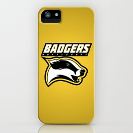Badgers Hufflepuff  iPhone Case