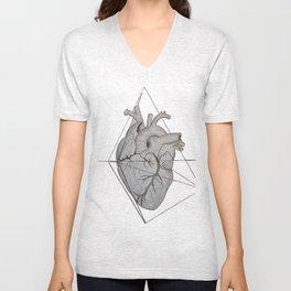 Corazón Roto Unisex V-Neck