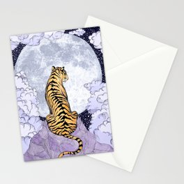 Tiger Moon | Colour Version Stationery Cards