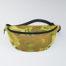 Vincent van Gogh : Sunflowers 1889 Fanny Pack