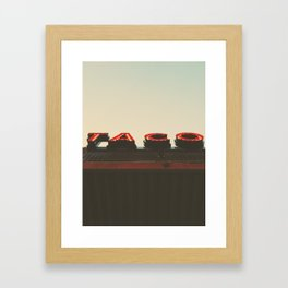 Tacos Framed Art Print