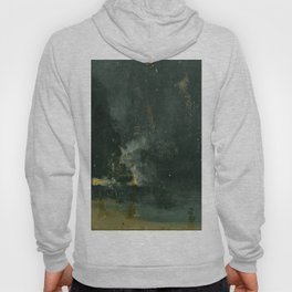James Abbott McNeill Whistler - Nocturne in Black and Gold Hoody