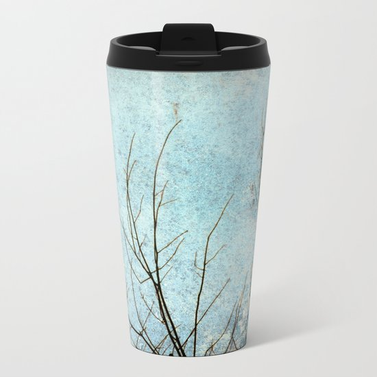 Calm Metal Travel Mug