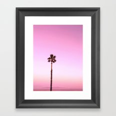 Stand out - twilight pink Framed Art Print