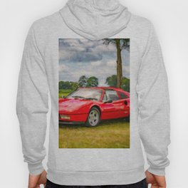 Red Sports Car 1987 Hoody