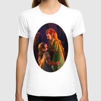 kili T-shirts featuring Tauriel and Kili 3 by Hattie Hedgehog