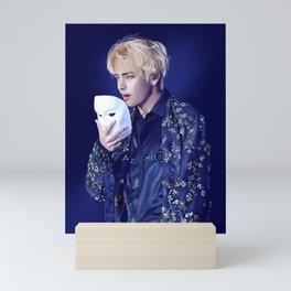 BTS Taeyung Singularity Mini Art Print