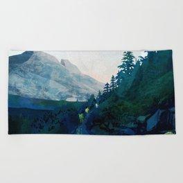 Heritage Art Series - Jade Beach Towel