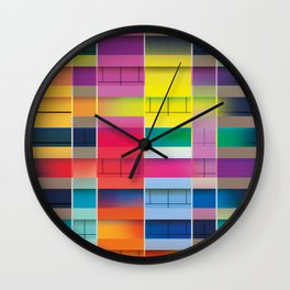Crossways Wall Clock