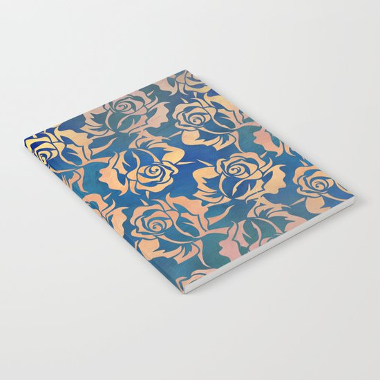 Rose pattern Notebook