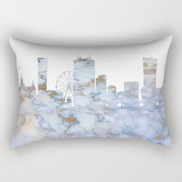 Birmingham Skyline Great Britain Rectangular Pillow