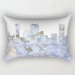 Birmingham Skyline Great Britain Rectangular Pillow