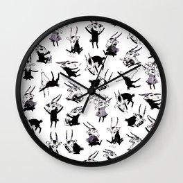 Odal Pattern Wall Clock