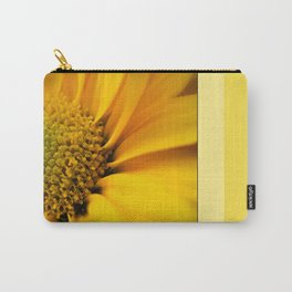 Big Yellow Flower Carry-All Pouch