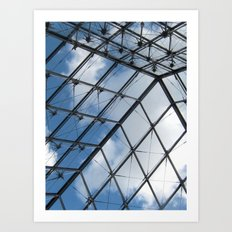 Through The Pyramid Art Print