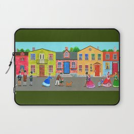 New England town Laptop Sleeve
