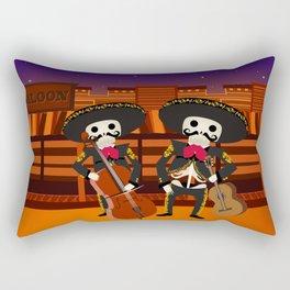 Mexico Mariachi Rectangular Pillow